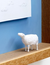 The Lost Sheep, detail