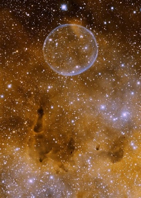 'Soap Bubble Nebula' - This is one huge bubble...as large as our Solar System.